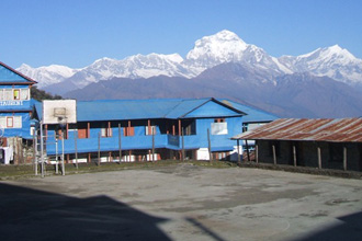 You can see this view during the Annapurna tatopani trekking